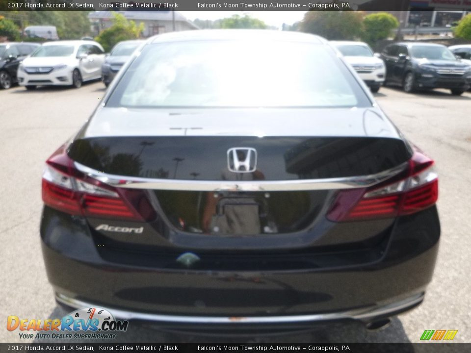 2017 Honda Accord LX Sedan Kona Coffee Metallic / Black Photo #3