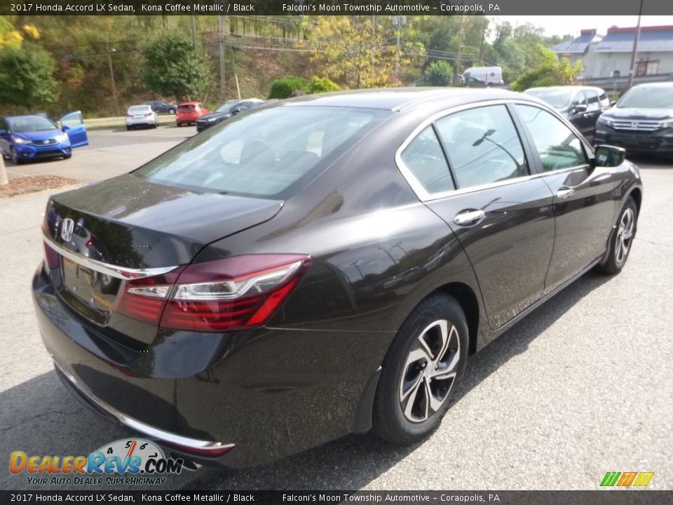 2017 Honda Accord LX Sedan Kona Coffee Metallic / Black Photo #4