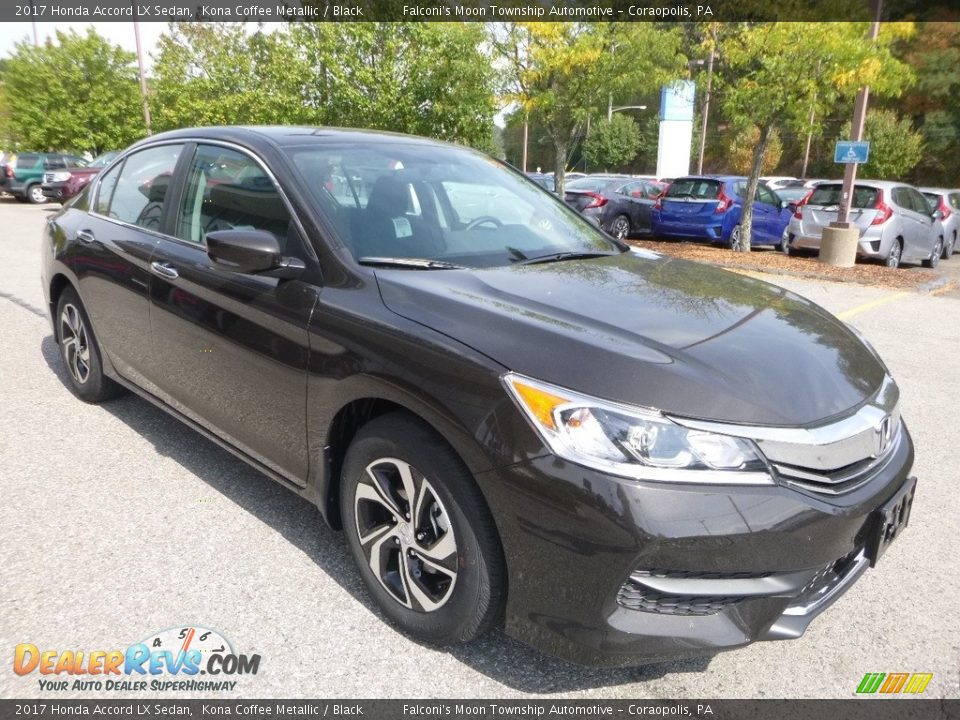 2017 Honda Accord LX Sedan Kona Coffee Metallic / Black Photo #5