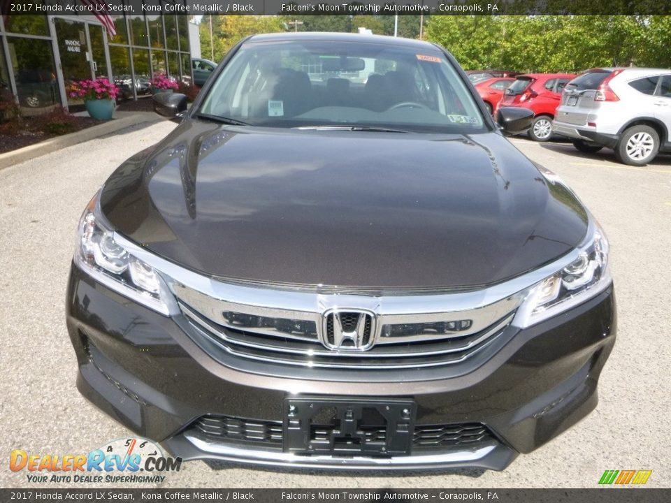 2017 Honda Accord LX Sedan Kona Coffee Metallic / Black Photo #6
