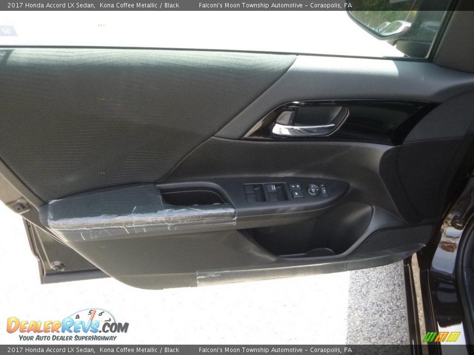 2017 Honda Accord LX Sedan Kona Coffee Metallic / Black Photo #11