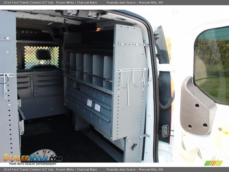 2014 Ford Transit Connect XLT Van Frozen White / Charcoal Black Photo #2