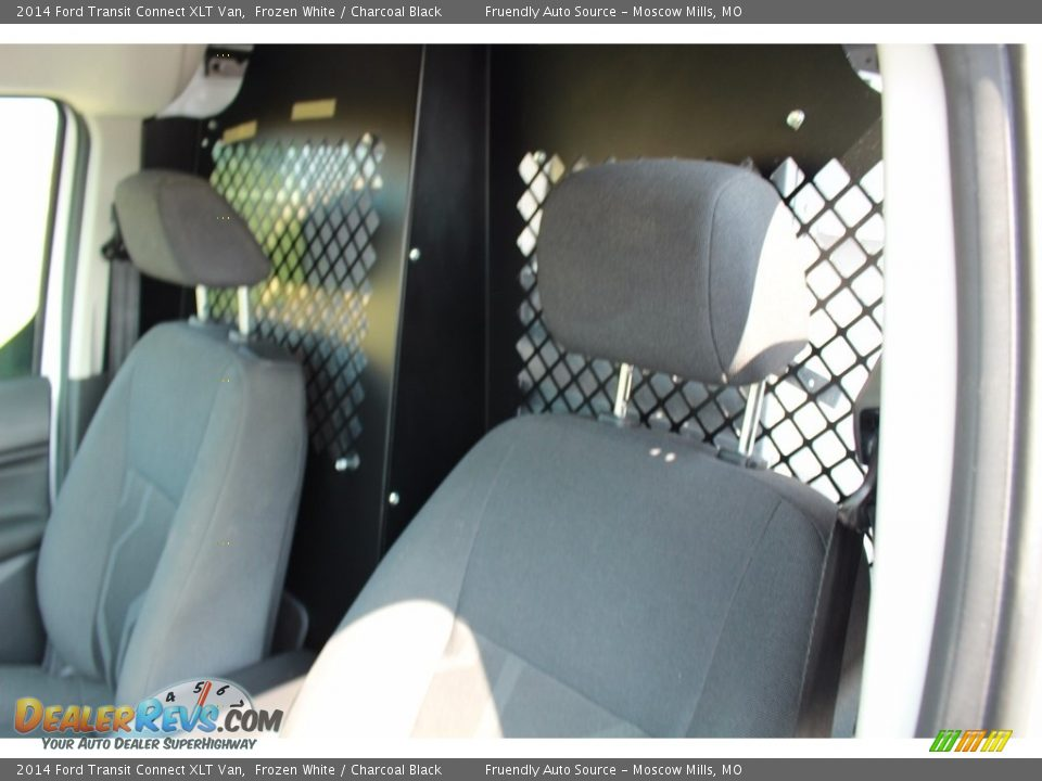 2014 Ford Transit Connect XLT Van Frozen White / Charcoal Black Photo #4