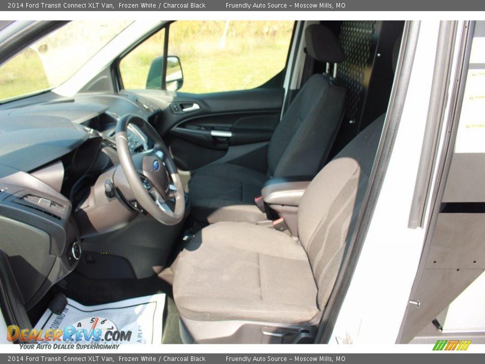2014 Ford Transit Connect XLT Van Frozen White / Charcoal Black Photo #7