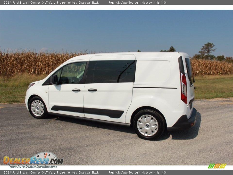 2014 Ford Transit Connect XLT Van Frozen White / Charcoal Black Photo #15