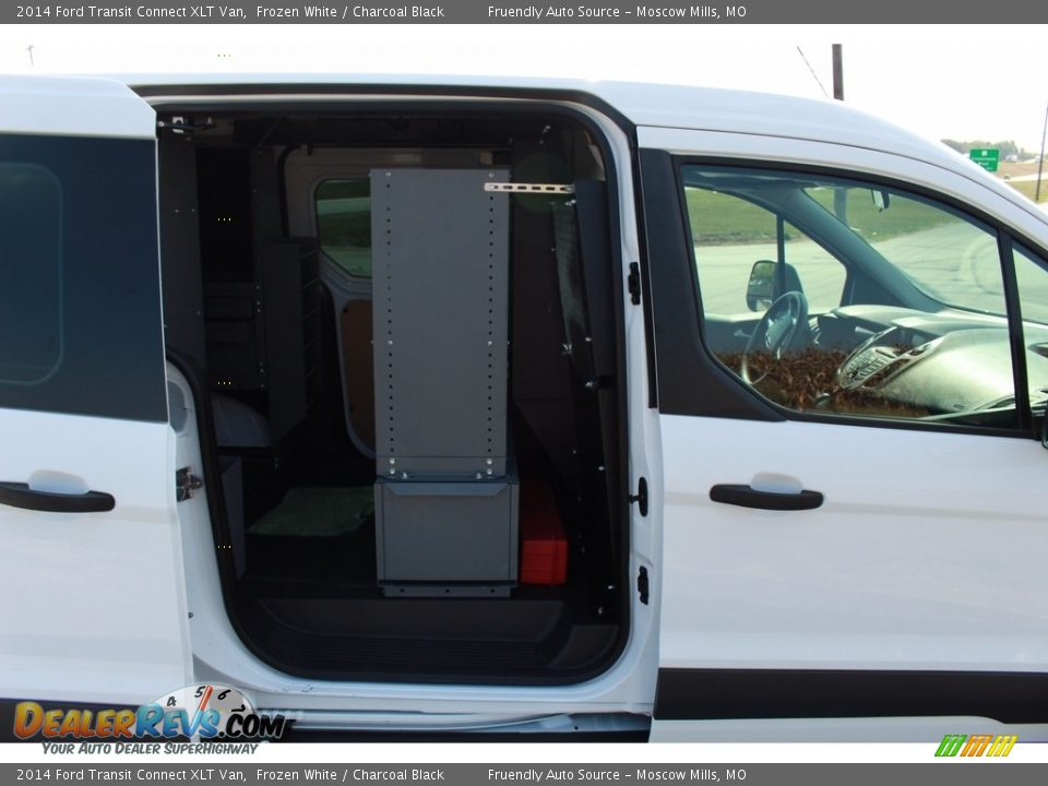 2014 Ford Transit Connect XLT Van Frozen White / Charcoal Black Photo #17