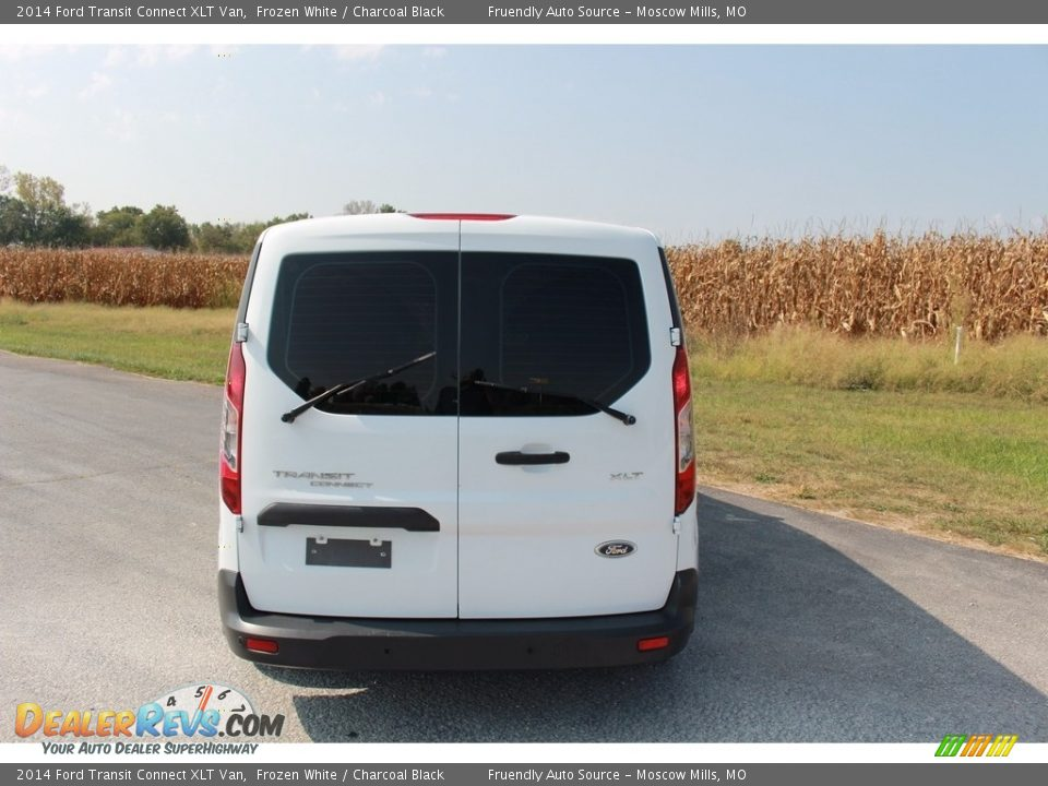 2014 Ford Transit Connect XLT Van Frozen White / Charcoal Black Photo #21