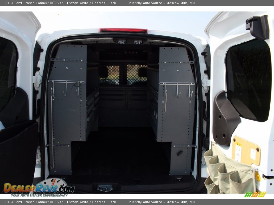 2014 Ford Transit Connect XLT Van Frozen White / Charcoal Black Photo #23