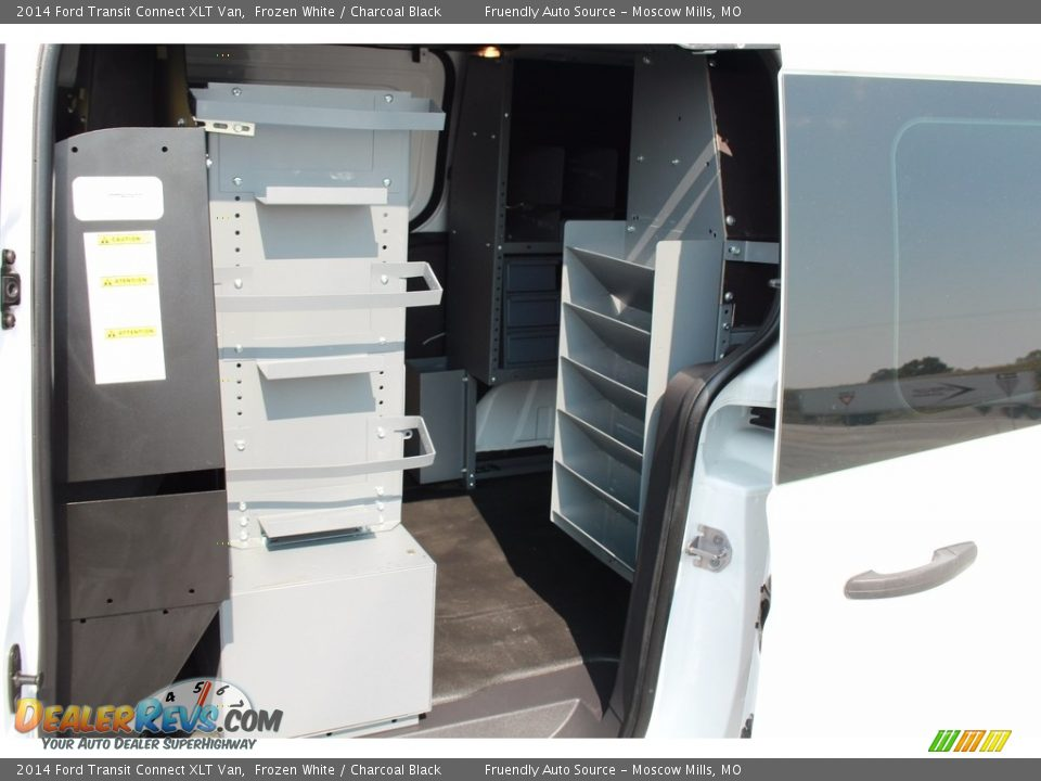 2014 Ford Transit Connect XLT Van Frozen White / Charcoal Black Photo #27