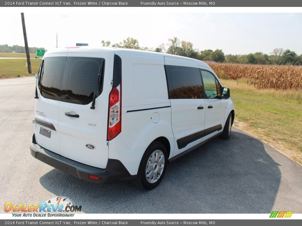 2014 Ford Transit Connect XLT Van Frozen White / Charcoal Black Photo #35