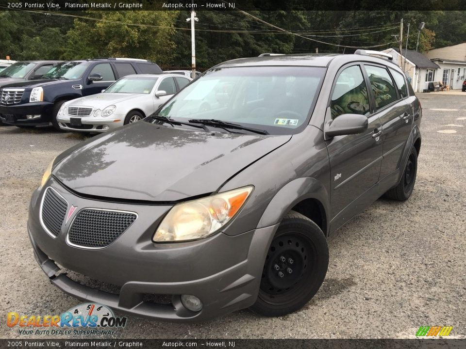 2005 Pontiac Vibe Platinum Metallic / Graphite Photo #1