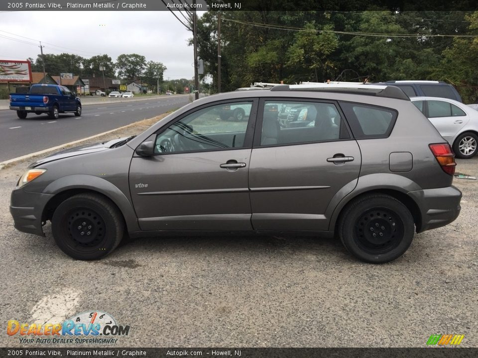 2005 Pontiac Vibe Platinum Metallic / Graphite Photo #2