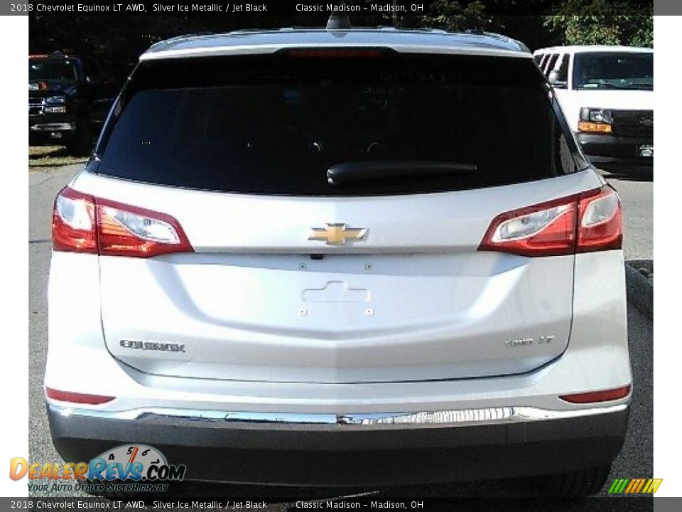 2018 Chevrolet Equinox LT AWD Silver Ice Metallic / Jet Black Photo #5