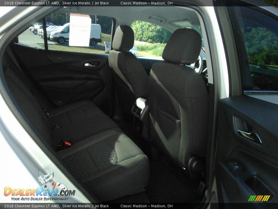 2018 Chevrolet Equinox LT AWD Silver Ice Metallic / Jet Black Photo #15