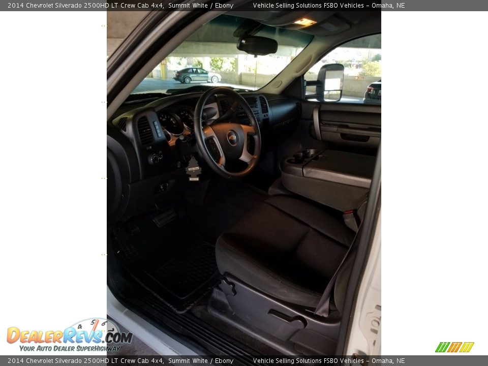 2014 Chevrolet Silverado 2500HD LT Crew Cab 4x4 Summit White / Ebony Photo #4