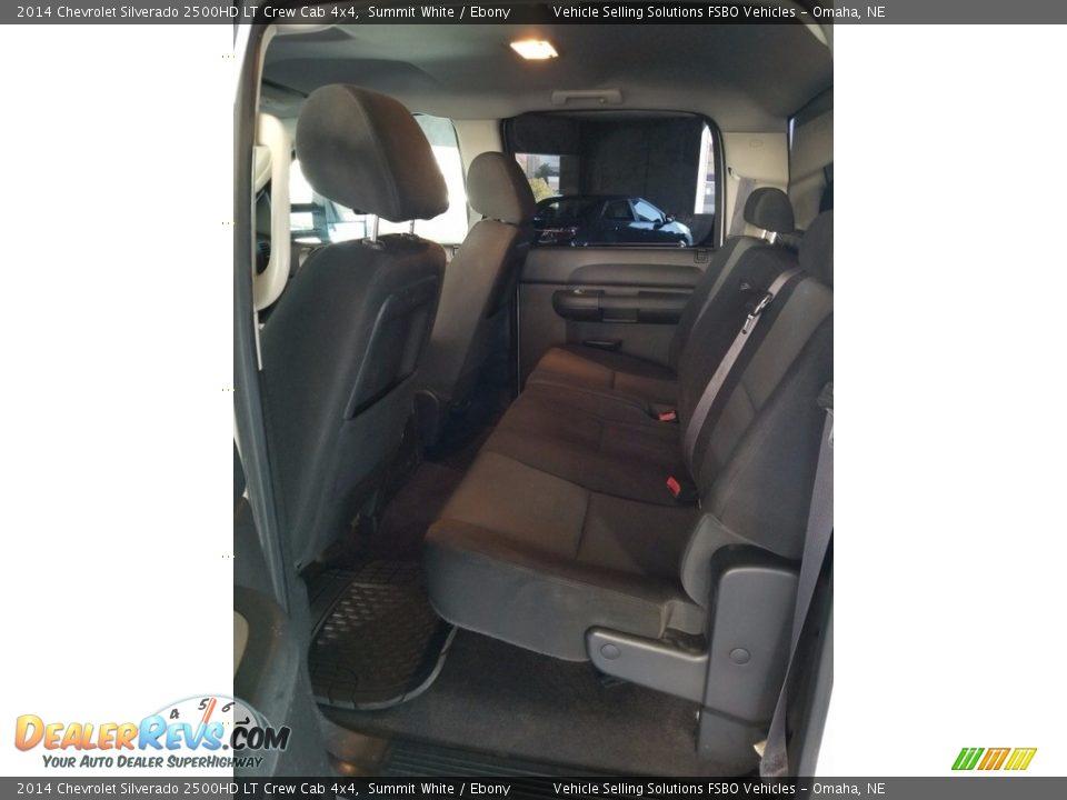 2014 Chevrolet Silverado 2500HD LT Crew Cab 4x4 Summit White / Ebony Photo #7