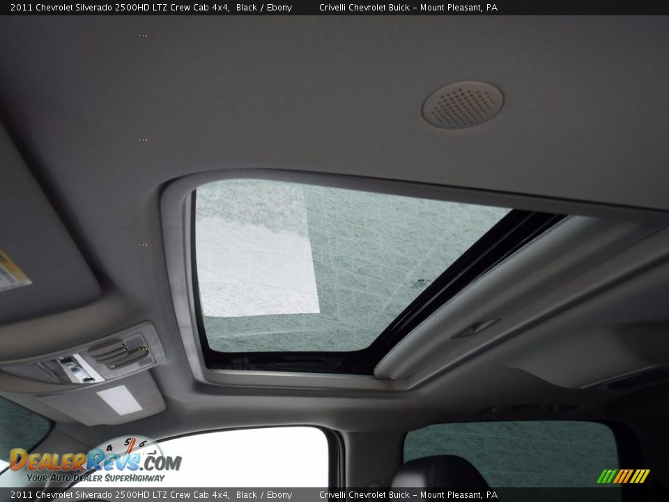 2011 Chevrolet Silverado 2500HD LTZ Crew Cab 4x4 Black / Ebony Photo #17