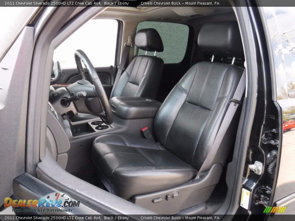 2011 Chevrolet Silverado 2500HD LTZ Crew Cab 4x4 Black / Ebony Photo #22