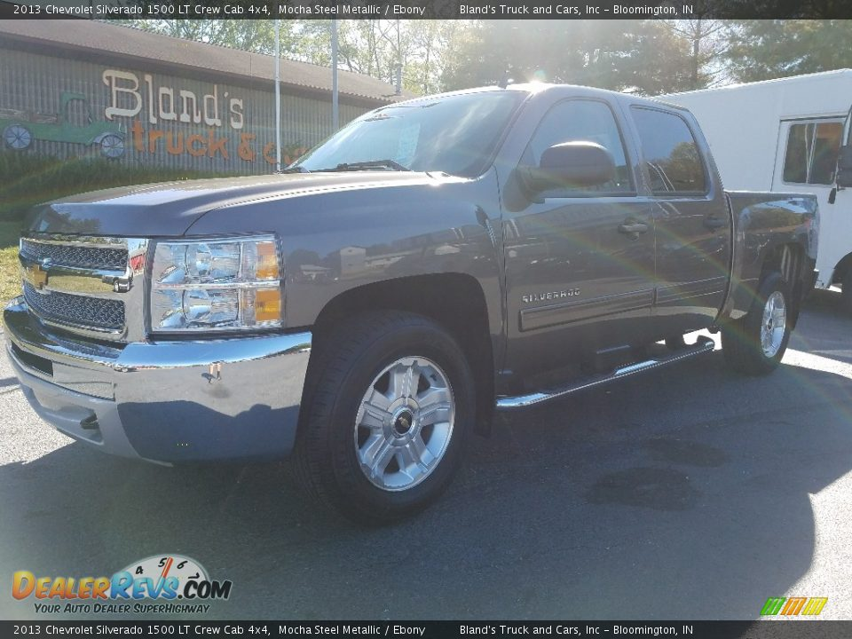 2013 Chevrolet Silverado 1500 LT Crew Cab 4x4 Mocha Steel Metallic / Ebony Photo #1