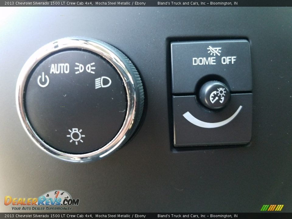 2013 Chevrolet Silverado 1500 LT Crew Cab 4x4 Mocha Steel Metallic / Ebony Photo #20