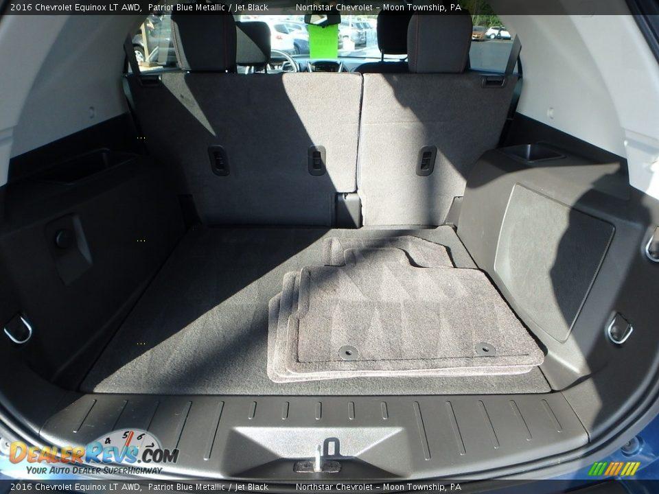 2016 Chevrolet Equinox LT AWD Patriot Blue Metallic / Jet Black Photo #7