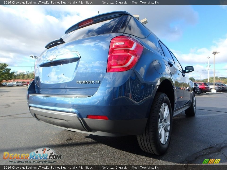 2016 Chevrolet Equinox LT AWD Patriot Blue Metallic / Jet Black Photo #9