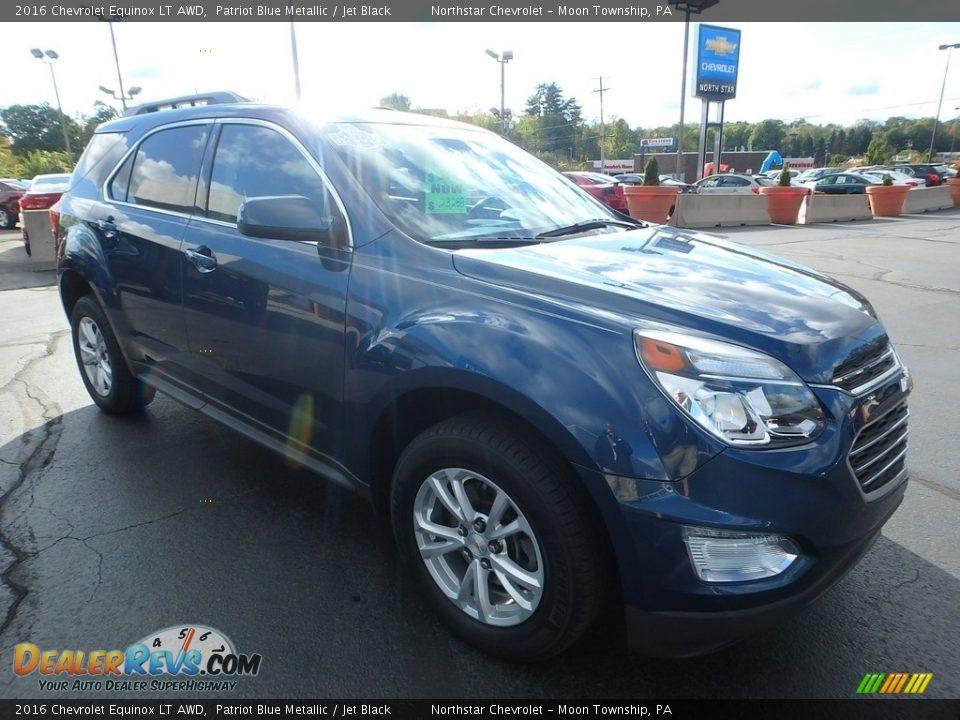 2016 Chevrolet Equinox LT AWD Patriot Blue Metallic / Jet Black Photo #11