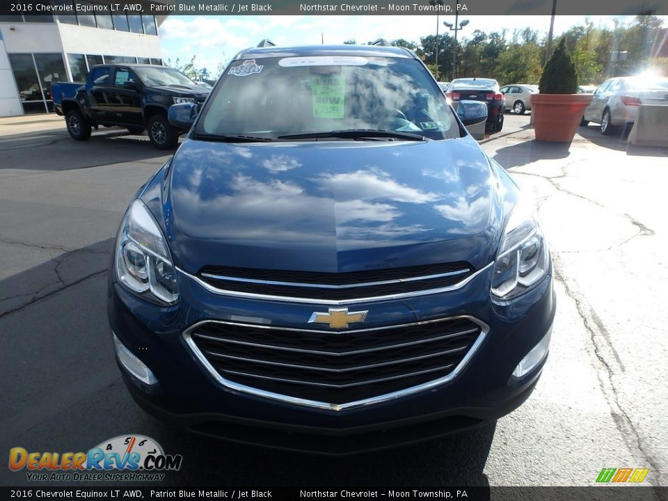 2016 Chevrolet Equinox LT AWD Patriot Blue Metallic / Jet Black Photo #12