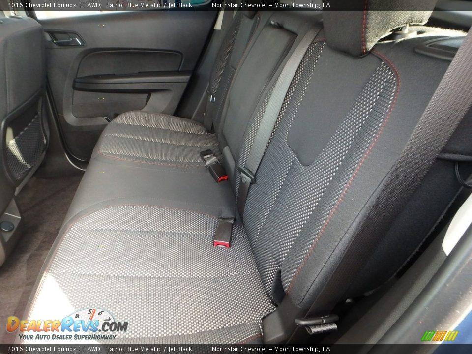 2016 Chevrolet Equinox LT AWD Patriot Blue Metallic / Jet Black Photo #20