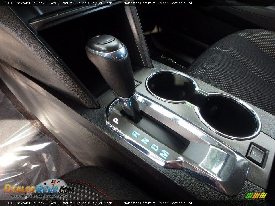 2016 Chevrolet Equinox LT AWD Patriot Blue Metallic / Jet Black Photo #25