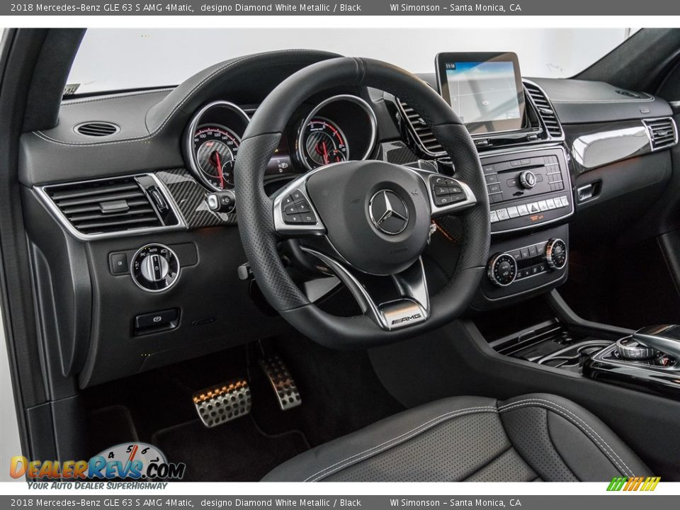 Dashboard of 2018 Mercedes-Benz GLE 63 S AMG 4Matic Photo #6