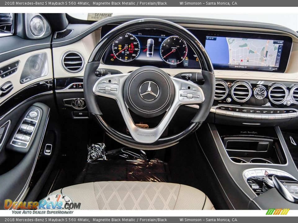 Dashboard of 2018 Mercedes-Benz S Maybach S 560 4Matic Photo #4