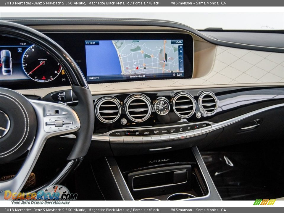 Navigation of 2018 Mercedes-Benz S Maybach S 560 4Matic Photo #5