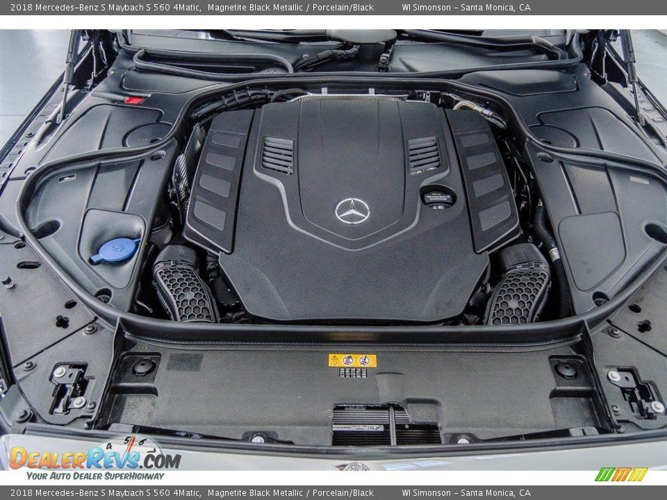 2018 Mercedes-Benz S Maybach S 560 4Matic 4.0 Liter biturbo DOHC 32-Valve VVT V8 Engine Photo #9
