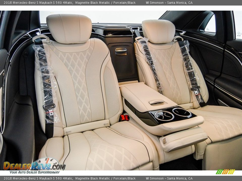 Rear Seat of 2018 Mercedes-Benz S Maybach S 560 4Matic Photo #13