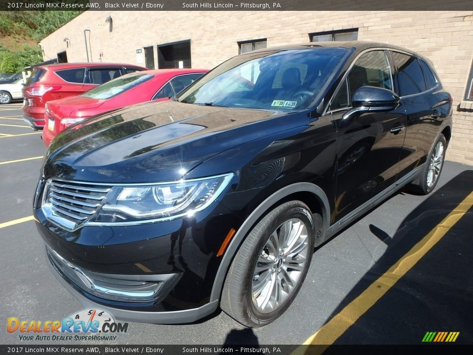 2017 Lincoln MKX Reserve AWD Black Velvet / Ebony Photo #1