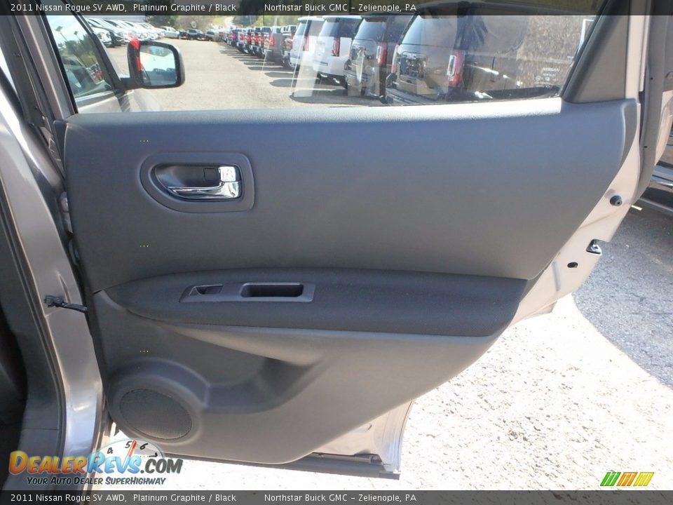 2011 Nissan Rogue SV AWD Platinum Graphite / Black Photo #8