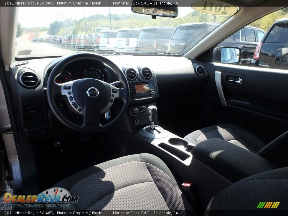 2011 Nissan Rogue SV AWD Platinum Graphite / Black Photo #17
