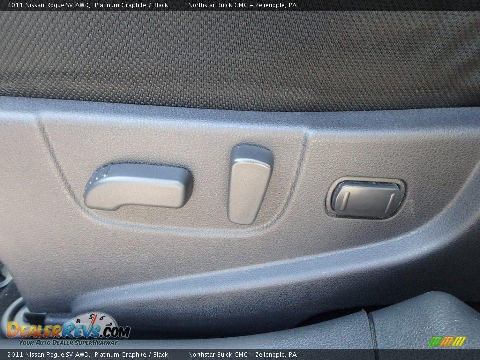 2011 Nissan Rogue SV AWD Platinum Graphite / Black Photo #20