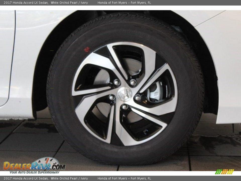 2017 Honda Accord LX Sedan White Orchid Pearl / Ivory Photo #2