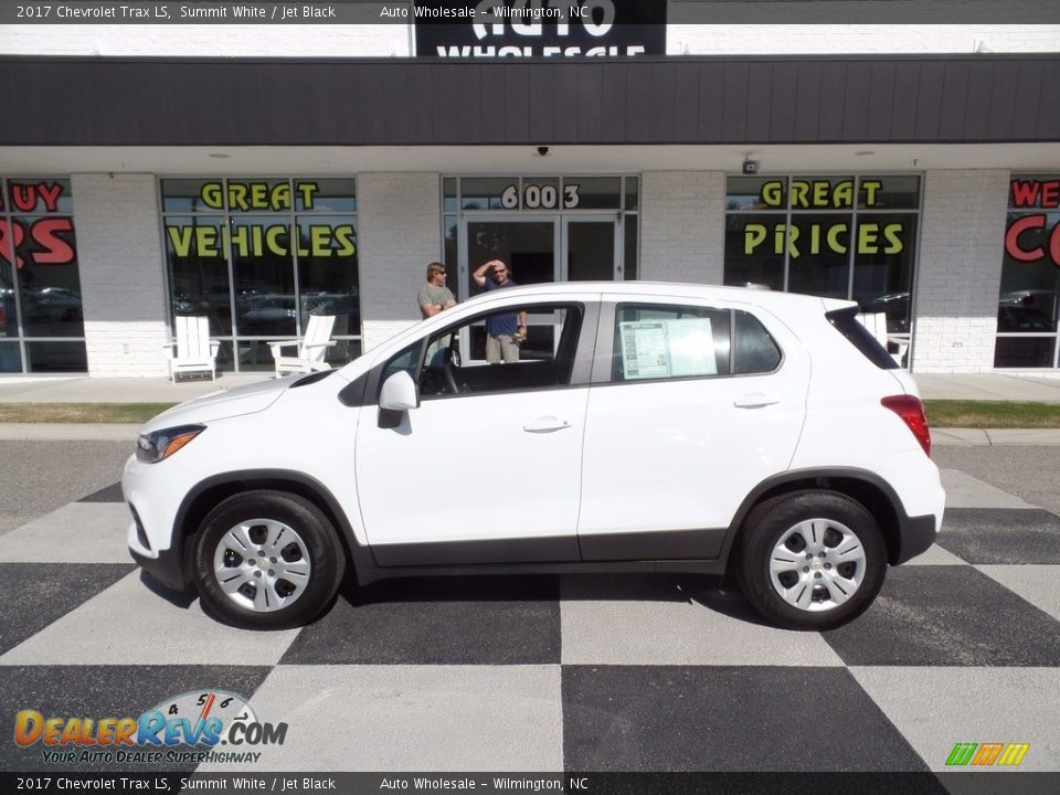 2017 Chevrolet Trax LS Summit White / Jet Black Photo #1