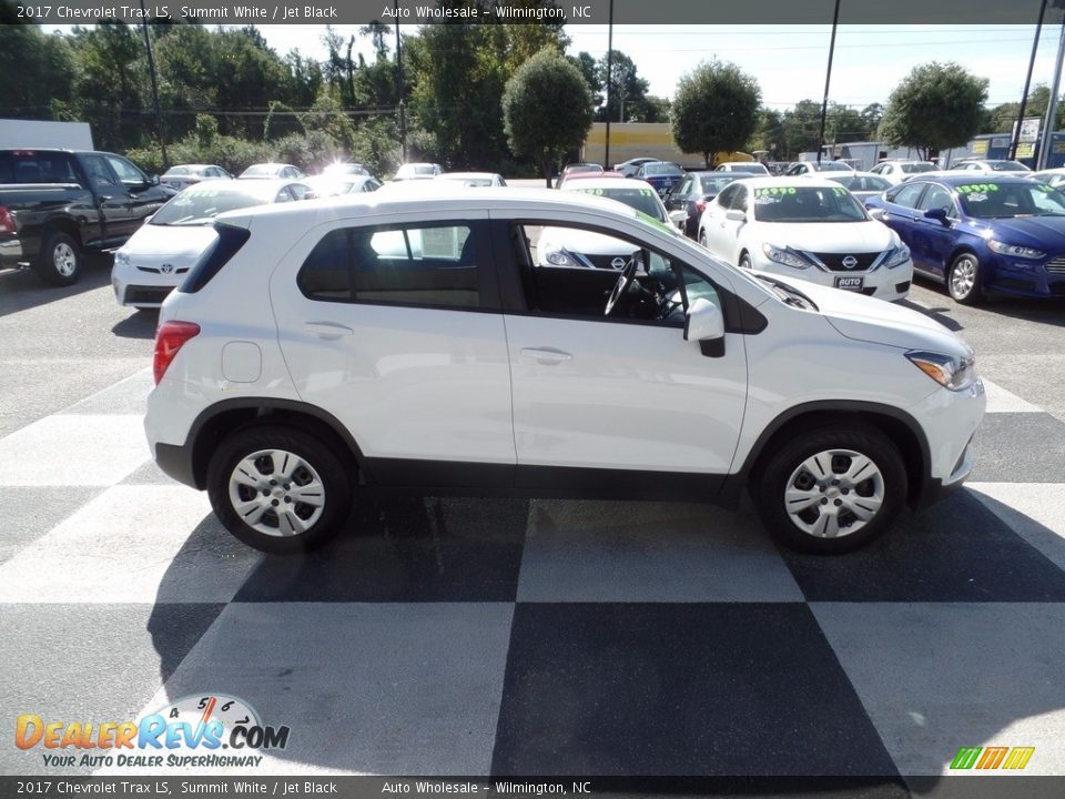 2017 Chevrolet Trax LS Summit White / Jet Black Photo #3