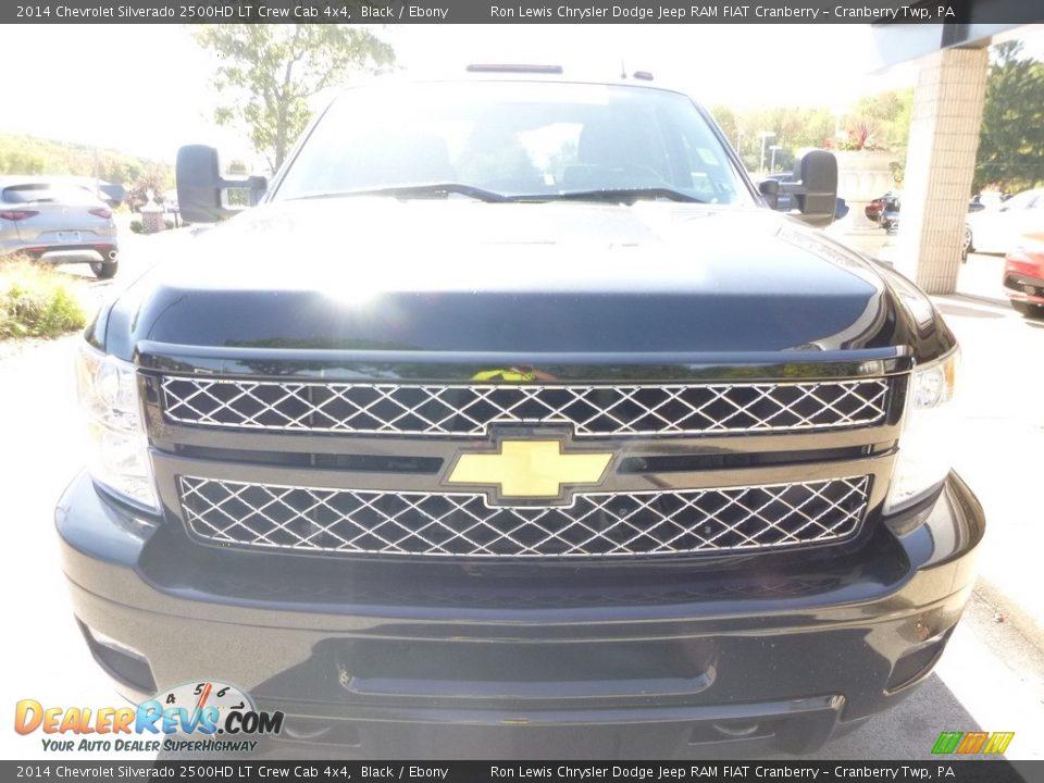 2014 Chevrolet Silverado 2500HD LT Crew Cab 4x4 Black / Ebony Photo #4
