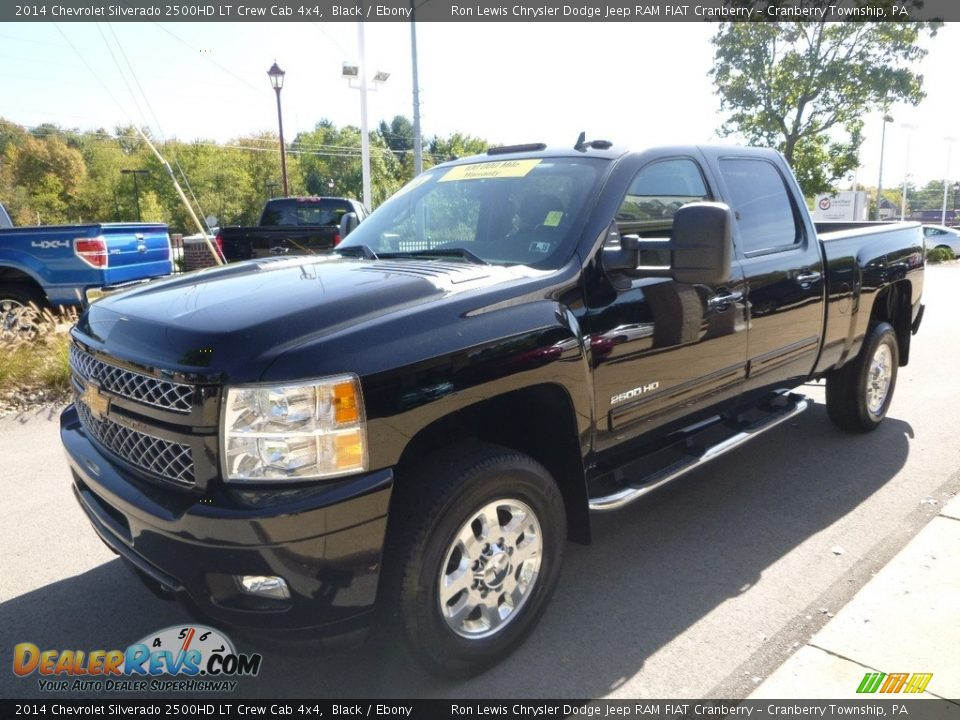 2014 Chevrolet Silverado 2500HD LT Crew Cab 4x4 Black / Ebony Photo #5