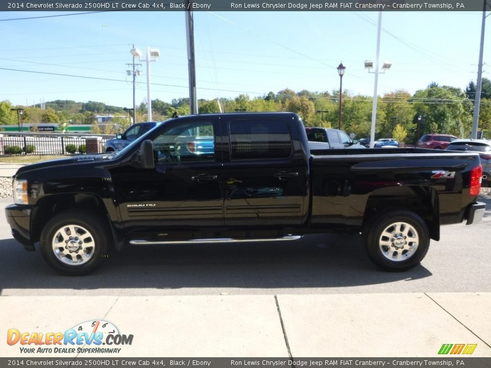 2014 Chevrolet Silverado 2500HD LT Crew Cab 4x4 Black / Ebony Photo #6