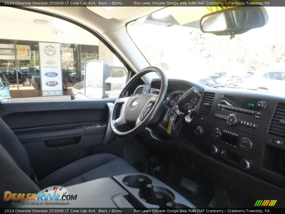 2014 Chevrolet Silverado 2500HD LT Crew Cab 4x4 Black / Ebony Photo #13