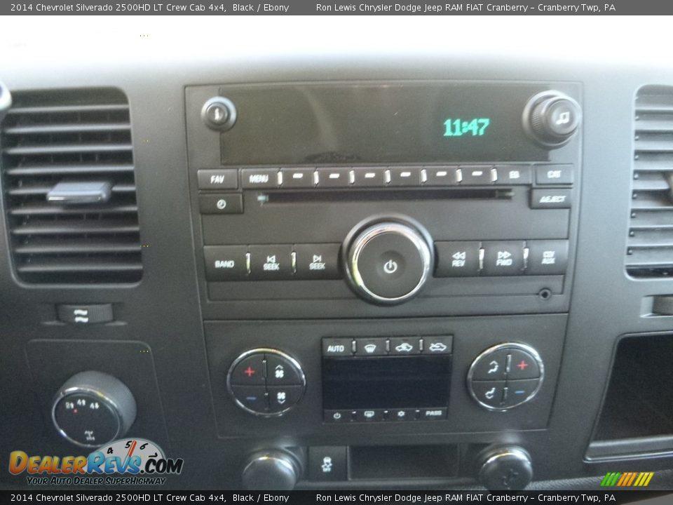 2014 Chevrolet Silverado 2500HD LT Crew Cab 4x4 Black / Ebony Photo #17
