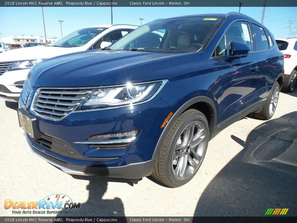 Front 3/4 View of 2018 Lincoln MKC Reserve AWD Photo #1