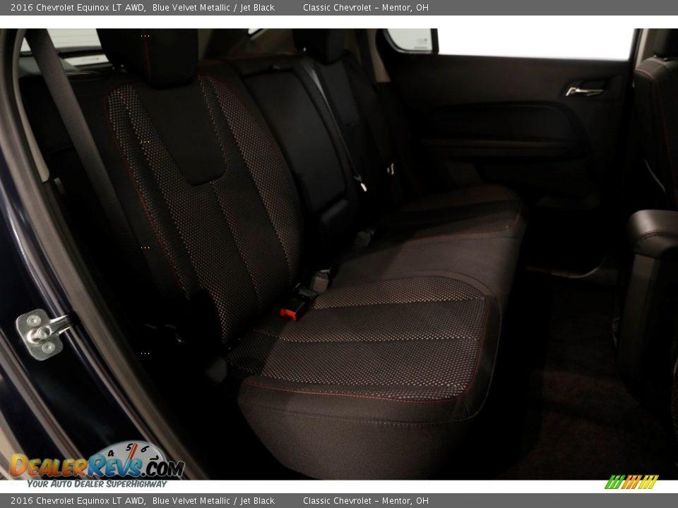 2016 Chevrolet Equinox LT AWD Blue Velvet Metallic / Jet Black Photo #15