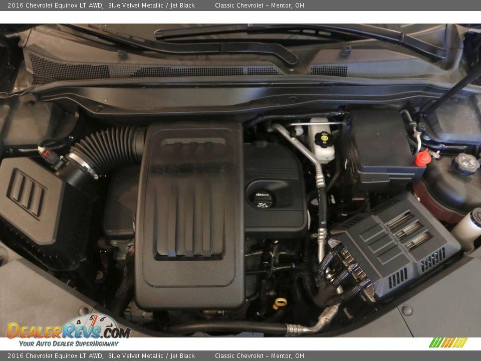 2016 Chevrolet Equinox LT AWD Blue Velvet Metallic / Jet Black Photo #18